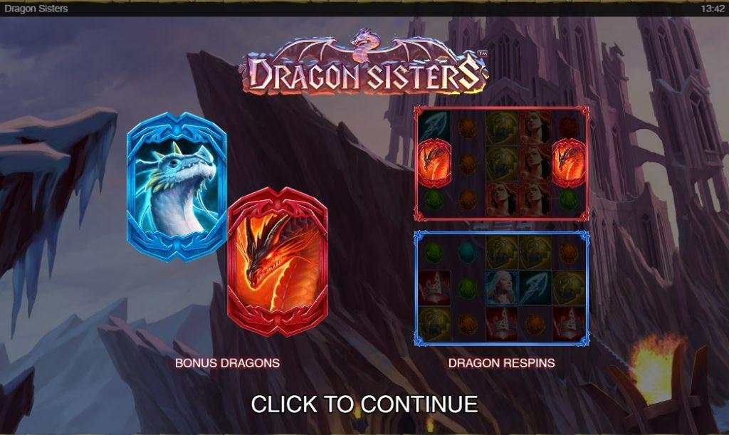 Ігровий автомат Dragon Sisters (Сестри дракона)