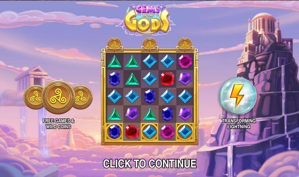 Ігровий автомат Gems of the Gods