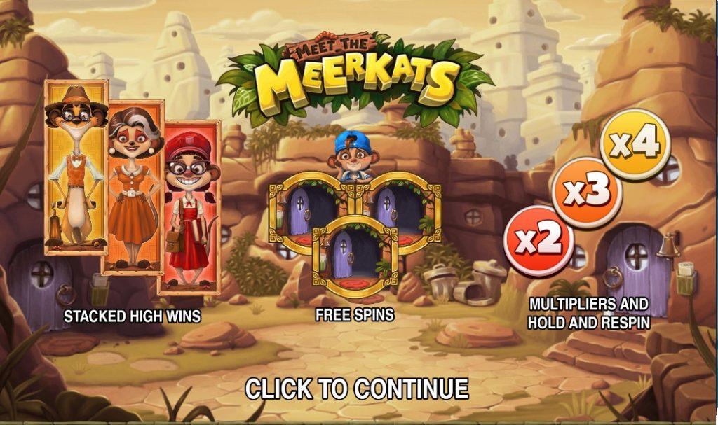 Ігровий автомат Meet the Meerkats