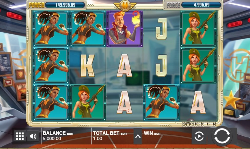 Ігровий автомат Power Force Heroes