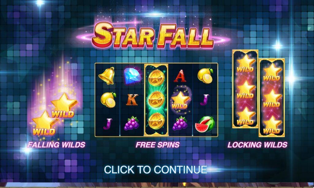 Ігровий автомат Star Fall