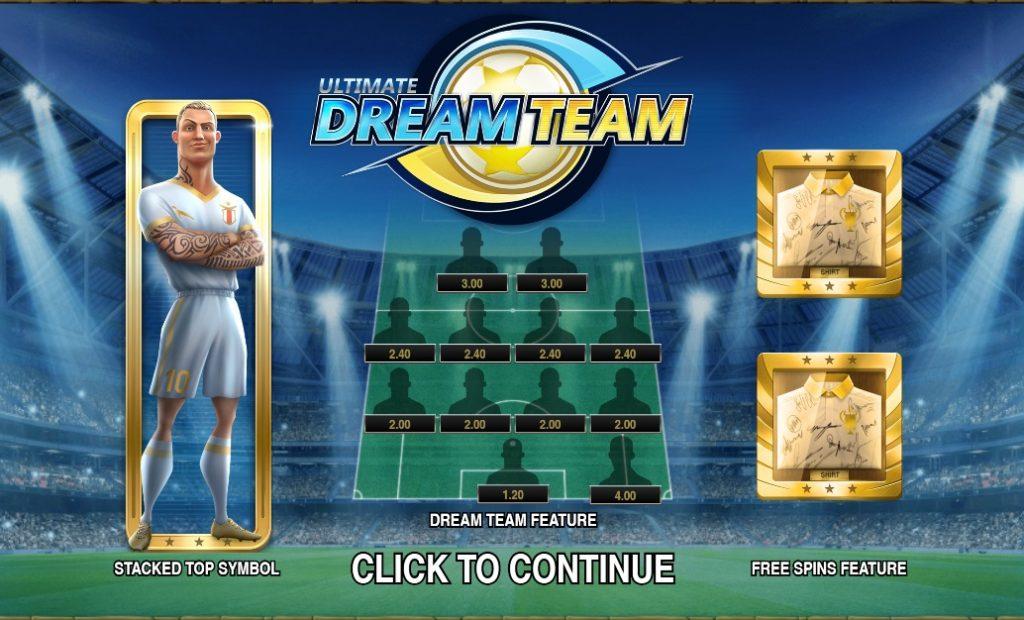 Ігровий автомат Ultimate Dream Team (Абсолютна команда мрії)